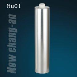 300ml esvaziar o tubo plástico de HDPE com vedante de silicone para Nu01