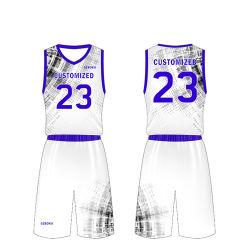 Umschaltbares stilvolles Basketball-Trägershirt-Großhandelskleid für Männer
