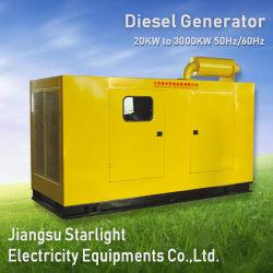 60kVA - 1000kVA Shangchaiの電気ディーゼル発電機4の打撃のディーゼル機関無声Genset