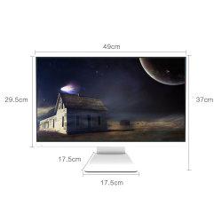 Las ventas de caliente equipo de desktop de PC de 21,5 pulgadas Core J1900 RAM 4GB de disco duro 500GB DVD todo en una oficina PC