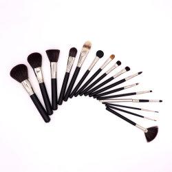 Meilleur maquillage brosses Brosses de maquillage Set 16pcs Fondation Kabuki Pinceau Mélange poudre Blush Concealers ombres à paupières composent les brosses kit avec sac