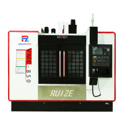 fraiseuse à commande numérique 4 axes verticaux Precision Metal machines CNC
