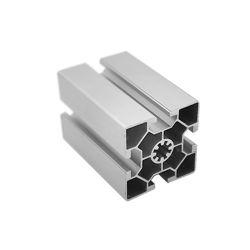 Rail linéaire aluminium extrudé fente 6060L T Profil en aluminium pour ligne de montage
