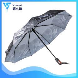 drievoudige Paraplu met 3D Druk van het Huis van de Opera van Sydney