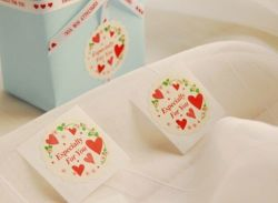 Kerstmis van de Stickers van het document vooral voor u verzegelt de Levering van de Etiketten van de Gift van de Nota van Kerstmis