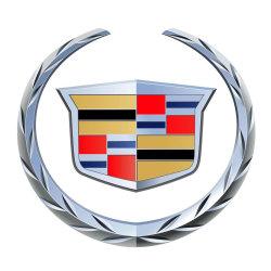 ABS de la marca Cadillac Señalización automática Chrome 3D coche logo emblema esmalte