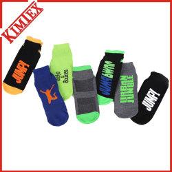 Mulheres Homens Personalizado confortável alça de algodão Moda Meias, meias de ioga feliz, Esportes Esportes trampolim meias de tornozelo