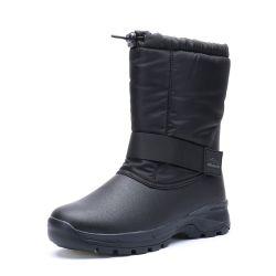 Chaussures de patinage de la neige avec de la fourrure de l'armée d'hiver des bottes pour hommes