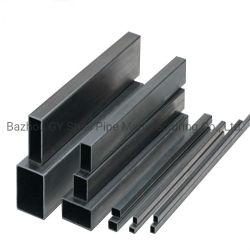 Bom preço Solde tubo quadrado de ferro Preto carbono