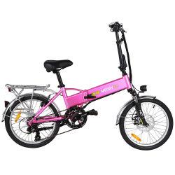 36V mini batterie masqué pour la ville de vélo électrique pliant