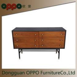 Ретро стиле деревянный шкаф новый дизайн Sideboard для гостиной мебель