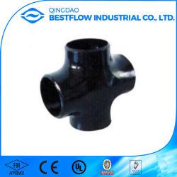 Soldadura a alta pressão acessórios para tubos de aço carbono Cruz forjadas (ASTM A105)