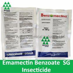 Benzoato di Emamectin dell'antiparassitario dell'insetticida (SG di 5%, SG 5.7%)