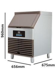 Máquina de hacer cubitos de hielo comercial en venta