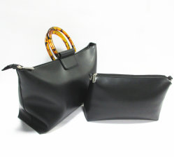 Marché de gros de luxe en cuir de PU Femme réplique Sacs à main Bagages 3086-1 Lady Textile sac fourre-tout