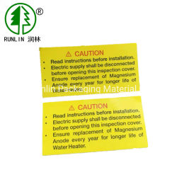 Service d'impression des étiquettes personnalisées Pet-PP-papier-PVC-PC autocollant auto-adhésif