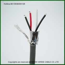 Il PVC di RoHS ha isolato il cavo elettrico schermato collegare torto accoppiamenti di controllo di segnale dello strumento dell'altoparlante dello schermo