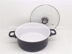 22см дома использовать белый керамическое покрытие горшочке