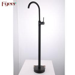 Bain Fyeer nouveau Mélangeur de douche avec plaqué noir