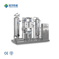 Misturador de bebida energética com elevadas emissões de CO2