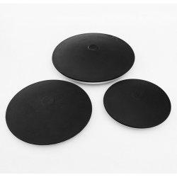 EPDM feiner der Luftblasen-260mm Membranen-Mikrodiffuser (Zerstäuber) Platten-des Diffuser- (Zerstäuber)EPDM