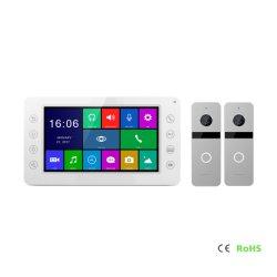 7 Zoll-preiswertester Monitor versteckte Kamera mit Nachtsicht-AusgangsSicherheitssystem-videotür-Telefon-Digitalkamera-videotür-Telefon