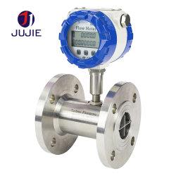 Turbina de água com fluxômetro de aço inoxidável para Água Diesel Combustível Álcool Metílico líquido limpo