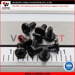 Vodafast ISO 7045 DIN 7985 Dwars (PHILLIPS) In een nis gezette Pan HoofdKlasse van de Grootte van de Schroeven van de Machine Kleine 4.8 Zwart Zink
