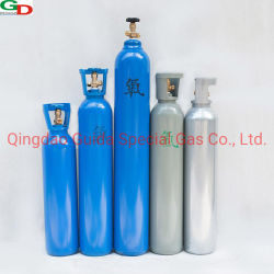 Verkoop van 40L de de de Naadloze Gasfles van de Hoge druk van de Norm van ISO/Cilinder van de Zuurstof/Cilinder van het Argon
