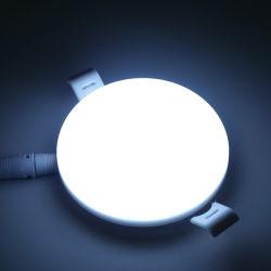 Оптовые цены для использования внутри помещений простота установки с плоским потолком лампа 7 Вт для монтажа на поверхность светодиодный индикатор на панели раунда