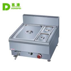 Commerciale Table comptoir alimentaire électrique plus chaud en acier inoxydable Bain-marie 3 pans