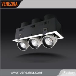 Vollkommener LED-Decken-Wand-Lichtquelle PFEILER mit hohe Leistungsfähigkeit Dali TRIAC Dimmable LED Scheinwerfer