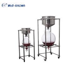 Labortrennung-Vakuumfilter-Glas-Trichter 10L 20L 50L