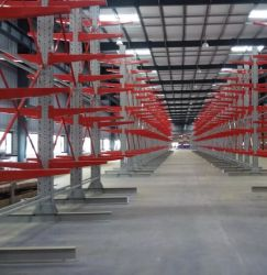 Einfaches Installations-Metallfreitragende Bauholz-Speicher-Zahnstangen