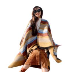 Personalização de Fábrica de Tecidos de lenço Listra no Outono e Inverno