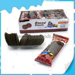 Os Cookies Redonda bolachas de chocolate