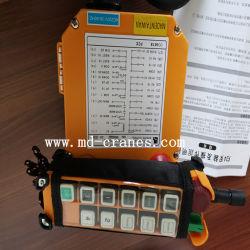 Telecrane original Industrial Control Remoto Inalámbrico polipasto eléctrico de control remoto Transmisor de 1 + 1 receptor F24-10d