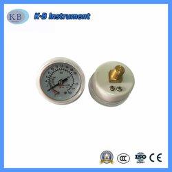 Kundenspezifischer Gasmanometer-Großverkauf-Sauerstoff-Vakuumdruckanzeiger für medizinisches