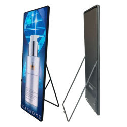 640*1920mm stand gratuit miroir P2.5 affiche l'intérieur de l'écran Afficheur à LED pour Mall Ads