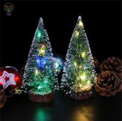 크리스마스 장식 LED 라이트 파인 니들 미니 크리스마스 트리