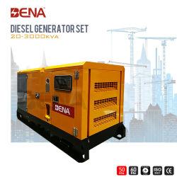 OEM Water koelde Stille Diesel 55kVA-550kVA Macht In drie stadia Elektrische Genset
