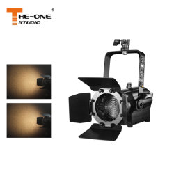 Pequeno Teatro Light 60W Fresnel LED Projector Mini projector