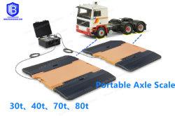 Scala portatile del camion della bascula a ponte elettronica dell'asse di alta esattezza