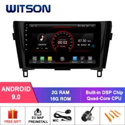 """Grand écran 10,2"""" Witson Android 9.0 DVD de voiture pour Nissan Qashqai/X-Trail (basse) 2014-2016"""