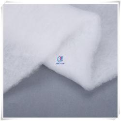 60GSM het Gewatteerde Materiaal van de Watten van de Polyester van de Lijm van de nevel Kledingstukken