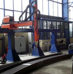 Máquina de soldadura de tubo para tubo automática de carrete de la pasada de raíz, rellena y Final de la soldadura (TIG/MIG/sierra)