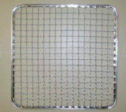 Edelstahl maß Ineinander greifen-quadratische Maschendraht-Filetarbeit ab