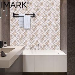 Mosaico di marmo arabo di Botticino Classico di disegno per la costruzione di progetto dell'hotel