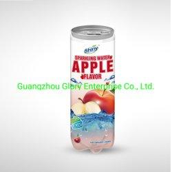 300ml PET transparent peuvent boire avec le jus de pomme mousseux
