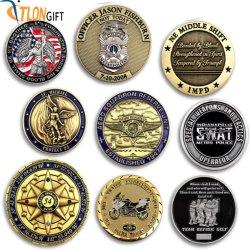 Металлические медальон Высококачественные металлические Custom монет сувенирной